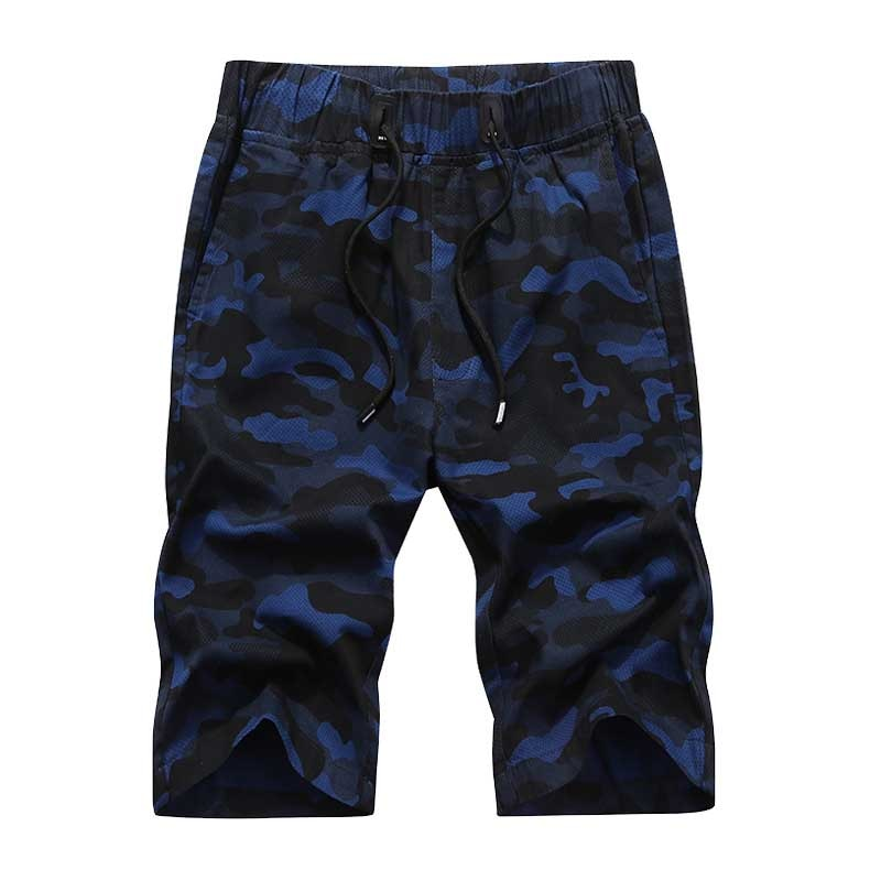 Military Camouflage Board Shorts for Men Summer Shorts Casual Loose Elastic Waist Couple Beach Wear Plus Size Streetwear Shorts men s camouflage style lace up slimming elastic shorts