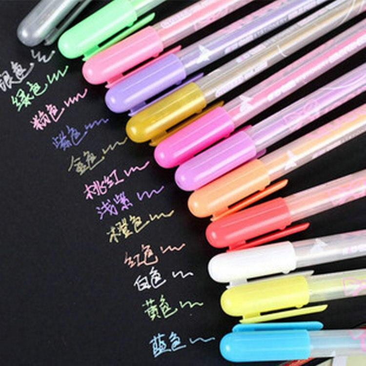 Набор маркеров для рисования акварелью, 12 шт./лот