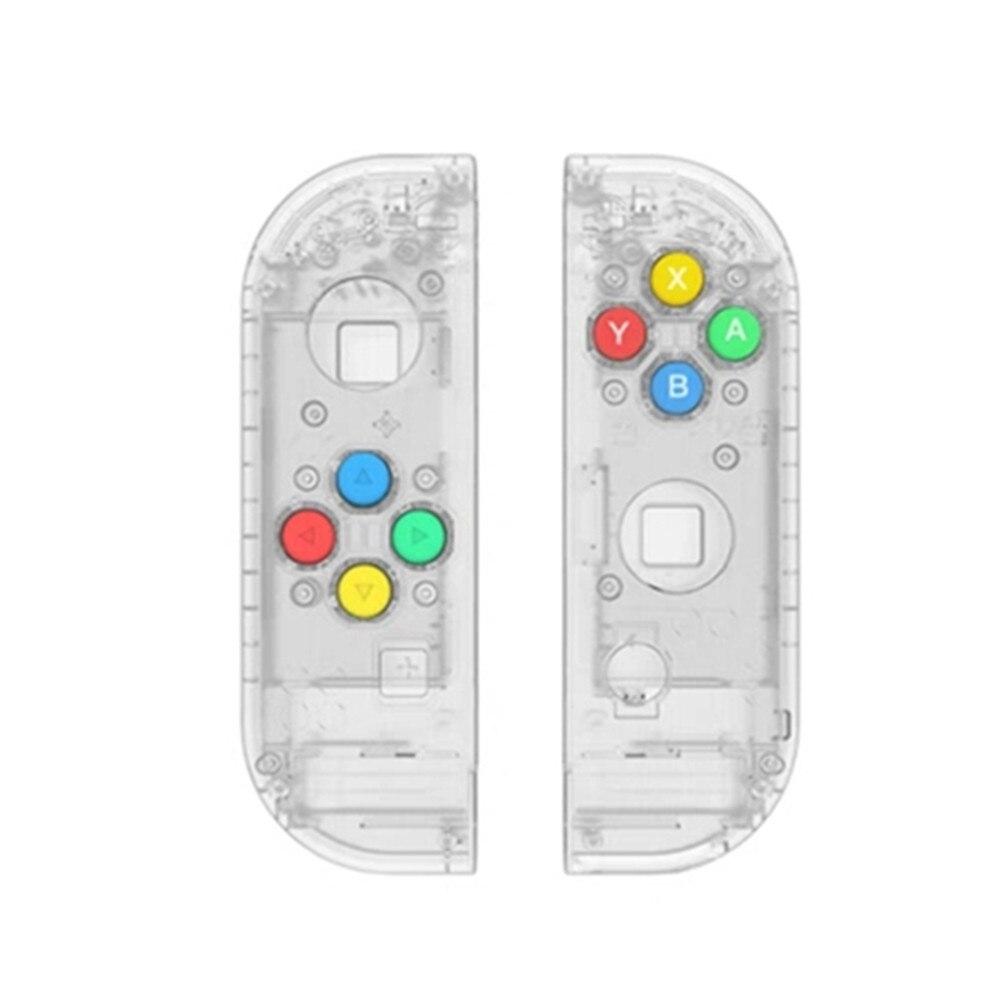 Funda protectora y botones para Nintendo Switch NS NX Joy-Con botones de la tapa del agarre de la consola de juegos del controlador izquierdo y derecho