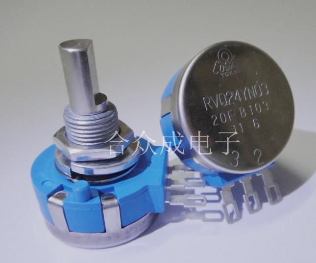 [VK] TOCOS RVQ24YN0320FB502 RVQ24YN03 20F B502 5K B5K potenciómetro de vida larga potenciómetro impermeable juego interruptor de accesorios