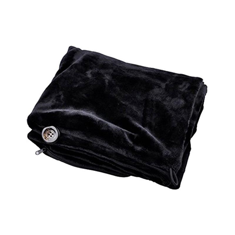 Chal calentado por USB, suave, manta calefactora para el cuello y hombros, para el invierno, 669