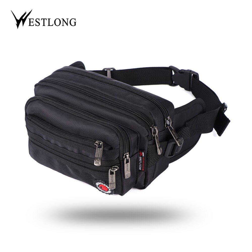 Riñonera informal funcional para hombre, mochila militar resistente al agua, riñonera para mujer, bolsa monedero para teléfono masculino Unisex 98011