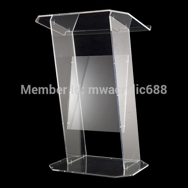 Envío Gratis, transparente, diseño moderno, Simple, firme, barato, atril de acrílico transparente