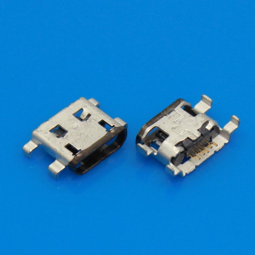 JCD 10 uds/lote para Motorola Moto G DVX XT1032 conector de puerto de carga micro USB muelle de reemplazo