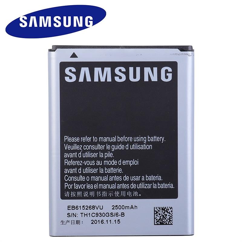 Оригинальный аккумулятор Samsung EB615268VU Для Samsung Galaxy Note 1 N7000 i9220 N7005 i9228 i889 i717 T879, сменный аккумулятор 2500 мАч