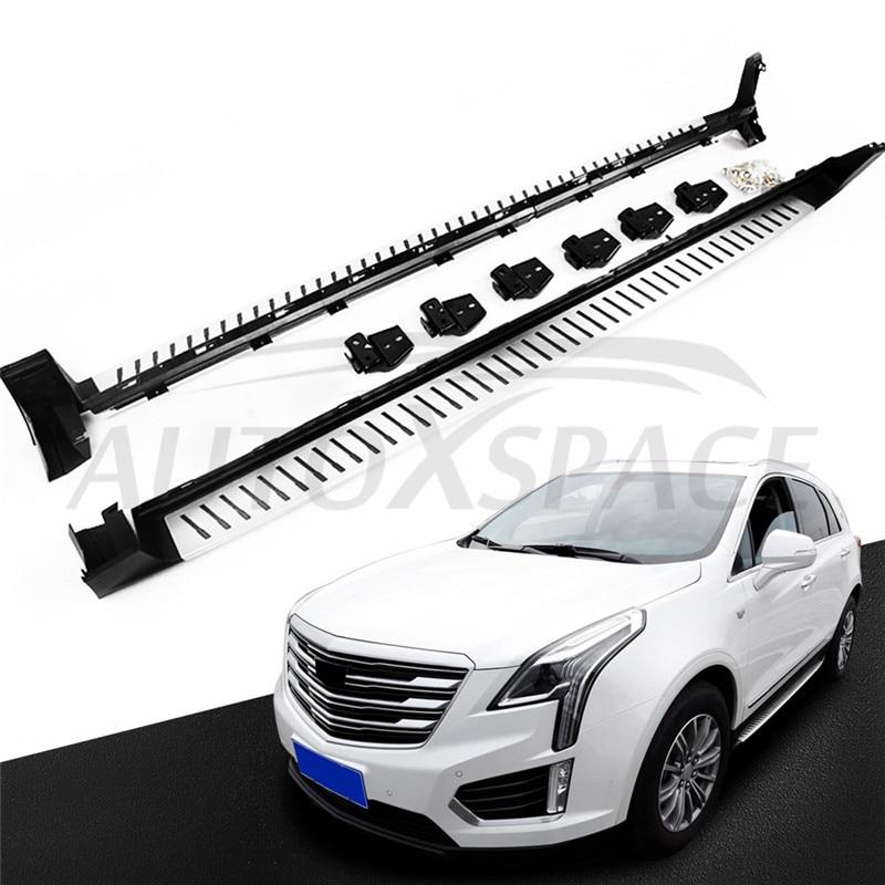 OEM High quality aluminium side step running board Nerf bar FIT FOR Cadillac XT5 2016-2020 Car Accessory
