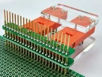LCD מבחן PCB קליפ מתקן מתקן בדיקה 2.54 קו length30/50/100 cm אופציונלי