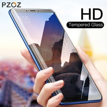 PZOZ Tempered Glass For Xiaomi Mi 8 SE A1 A2 5 5S Plus 5X 6X Mix 2S Max 2 3 Glass Transparent Screen Protector Film