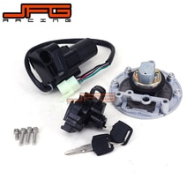 Motorcycle Lockset Ignition Key Switch Fuel Gas Cap Seat Lock Keys For Yamaha XJR400 93-99 XJR1200 95-98 XJR1300 1999