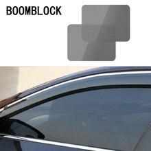 2 pièces voiture ombre couvre accessoires électricité statique autocollants pour BMW E46 E60 Ford focus 2 Mazda 3 Volkswagen Polo Golf 4 Skoda
