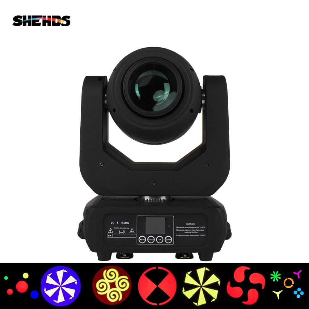 SHEHDS-مصباح رأس متحرك LED ، شعاع ضوء غسيل احترافي ، حامل DJ ، ديسكو ، حفلة موسيقية ، 150 واط