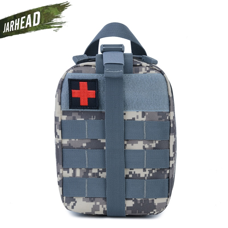 Tático Tampa Saco Molle Malote Médico EMT Médico Kit de Primeiros Socorros de Emergência Ao Ar Livre Militar Saco BagTravel Caça EDC