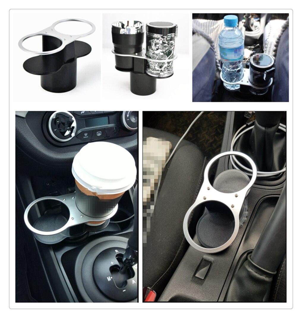 Auto Accessories Drink Water Coffee Bottle Holder Cup Shelf for Audi I Ah Ah A8 A3 A4 A6 A5 Q7 R A3 3-Door