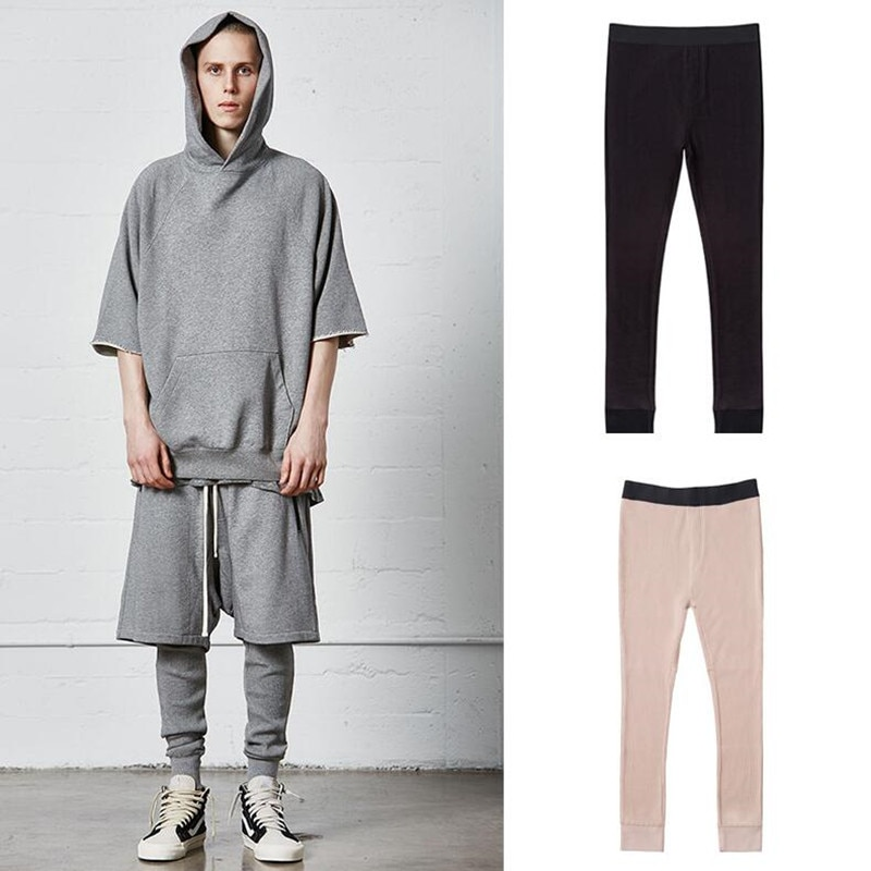 2019 New top Best version the Fear God Essentials fog pants Sweatpants  Men Women press track pants Leggings Justin Bieber