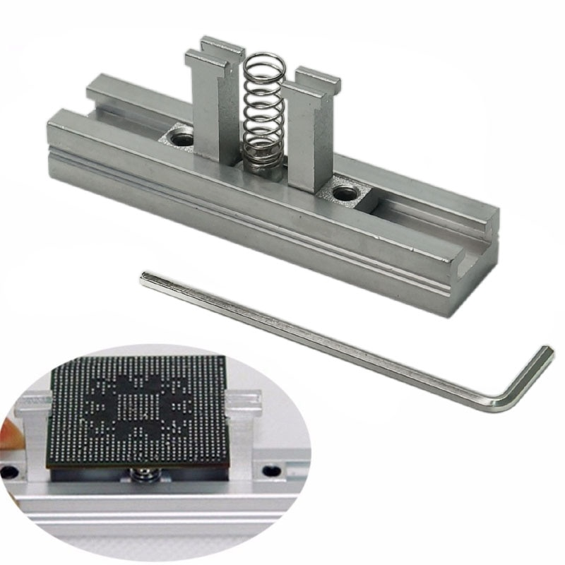 69pcs/lot BGA Reballing Kit BGA Directly Heating Stencils Fixtures BGA Station 11pcs 25K Solder Ball Flux Tweezers enlarge