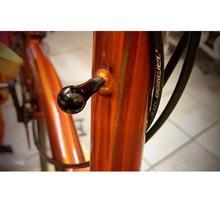 Casque de vélo pliant pièces de fixation en alliage daluminium pince de crabe raccords pour brompton vélo fixation Buck tête tube noir argent 2.8g