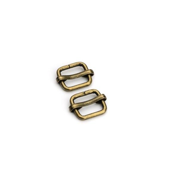 Ajustável da Curvatura da Corrediça Antique Brass Stap Sliders Bronze 100 Pçs Lote 1 – 2