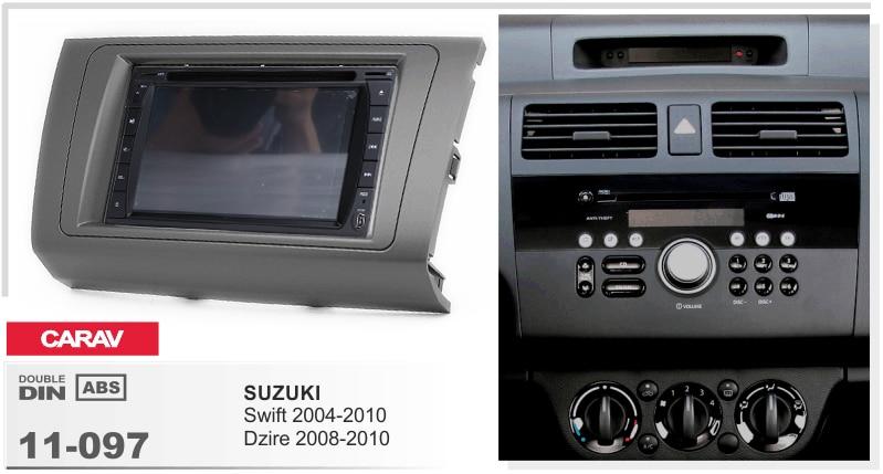 Navirider-enregistreur de bande radio   Android 8.0, octa Core, 4 go de RAM 32 go de rom (cadre + DVD), adapté pour SUZUKI Swift Dzire 2008-2010
