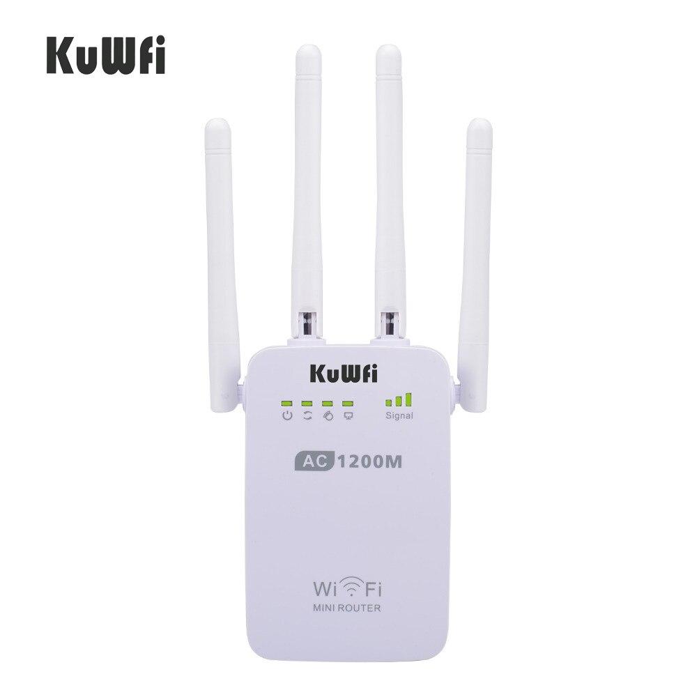 1200mbps sem fio wifi impulsionador repetidor extensor roteador ponto de acesso 24g