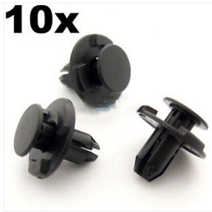 10x8 мм отверстие, загрузки и багажника отделка зажимы-для Nissan Qashqai, Juke, Pathfinder, Pulsar