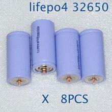 Nouveau 8 pièces IFR 3.2V 32650 batterie 5000mah LiFePO4 rechargeable lithium ion cellule pour vélo électrique e-bike batterie avec vis