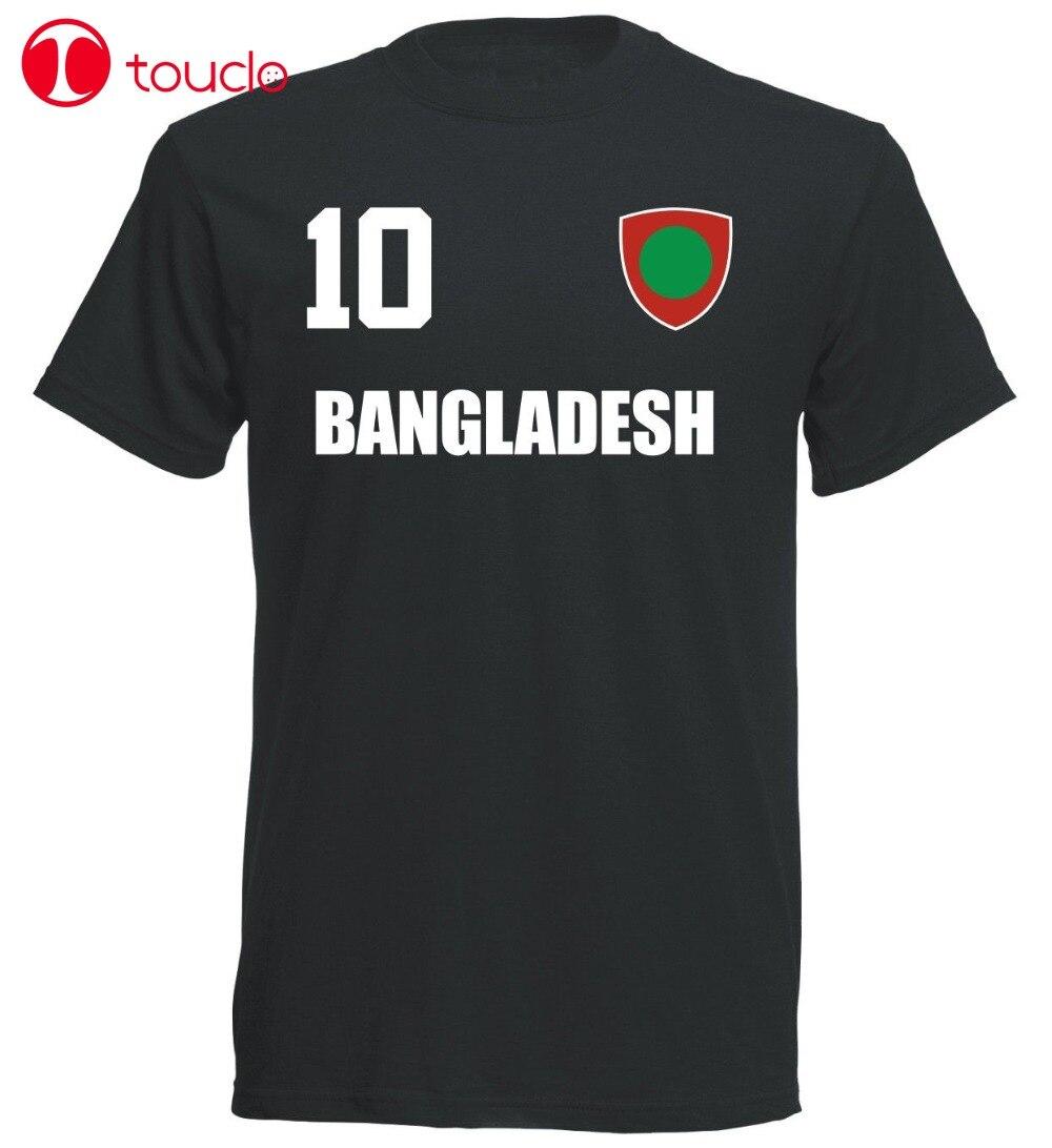 Doble lado Bangladesch Kinder camiseta Schwarz Trikot Fubball Nr 10 Sporter futbolista fútboles camiseta sudaderas con capucha