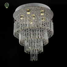 Nordique lustre cristal lustre lumières salon chambre lustres lampe Led moderne luminaire intérieur décor Luminaria