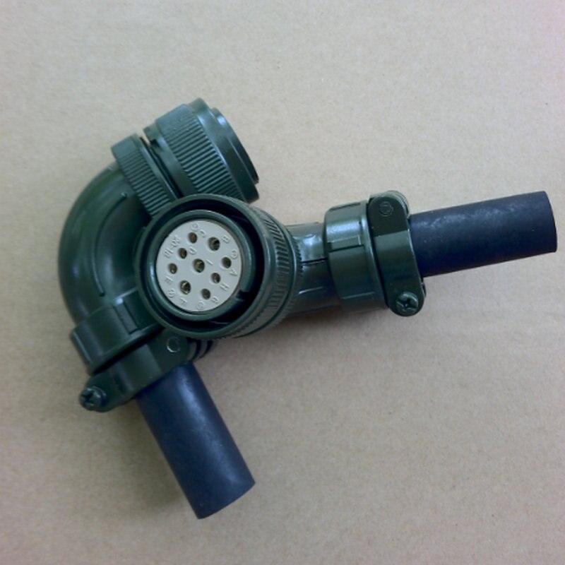Aviation plug 9 pin MS3108B 20-18S YDM30200347 servo connector VW3M5121 for Mitsubishi Fanuc Delta Servo motor