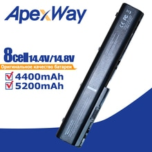 14.4V 4400mAH Batterie pour HP Pavilion DV7 DV8 464059-121 464059-141 HSTNN-DB74 HSTNN-DB75 HSTNN-IB74 HSTNN-IB75 HSTNN-OB75