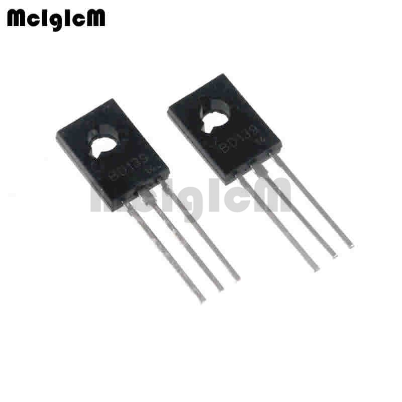 MCIGICM 50 stücke NPN power transistoren BD139 ZU-126