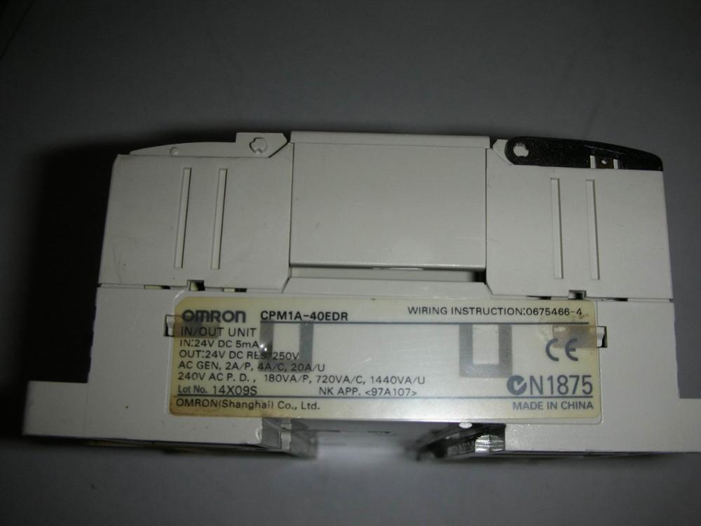 1 قطعة تستخدم اومرون CPM1A-40EDR