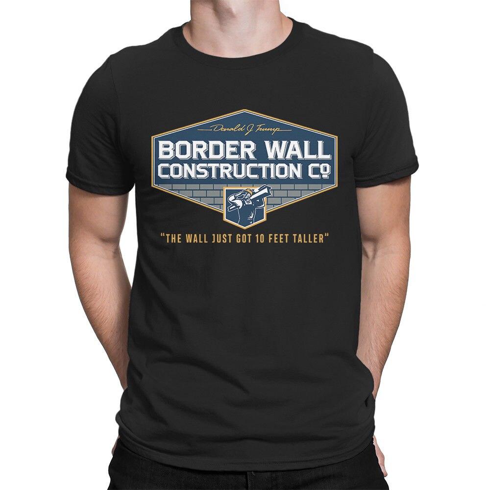 Trump frontera de construcción de la pared de camiseta de construir el...