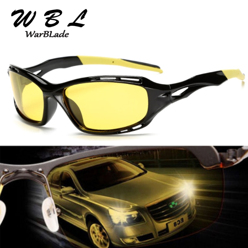WarBlade 2019 Men Polarized Sunglasses Sun Glasses Male 100% UV400 Polarised Driving Goggle Style Ey