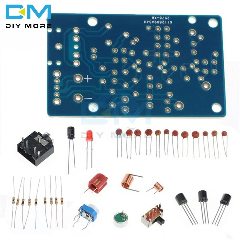 FM Wireless Microphone Suite FM Radio Transmitter DIY 1.5-9V 76-108MHz Module 20HZ-15KHZ 50 OHM DIY KIT Base Board