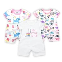 baby girls rompers summer fashion short sleeve baby boy clothing toddler roupas clothes newborn baby clothes infant jumpsuits