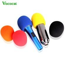 Vococal 5 pièces/ensemble Microphone de scène à main micro micro Protection pare-brise micro éponge couverture en mousse accessoires de Protection