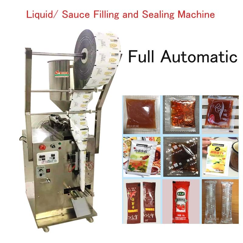 Автоматическая жидкостная упаковочная машина соус-паста чили масло количественное наполнение & запайки машина MG-600