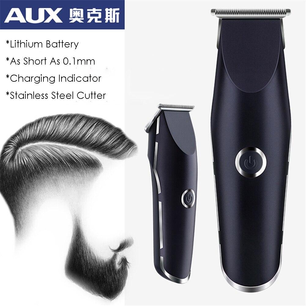 Professional Precision Hair Clipper Electric Hair Trimmer Beard Shaving Machine 0.1mm Baldhead Cutting for Men Barber Haircut enlarge