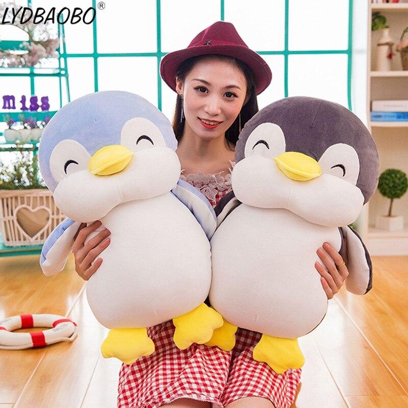 1pc 45/55cm Soft fat Penguin Plush Toys Stuffed Cartoon Animal Doll Fashion Toy for Kid Baby Lovely Girl Christmas Birthday Gift