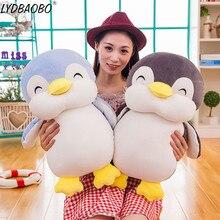 1pc 45/55cm doux gros pingouin en peluche jouets en peluche dessin animé Animal poupée mode jouet pour enfant bébé belle fille noël cadeau danniversaire