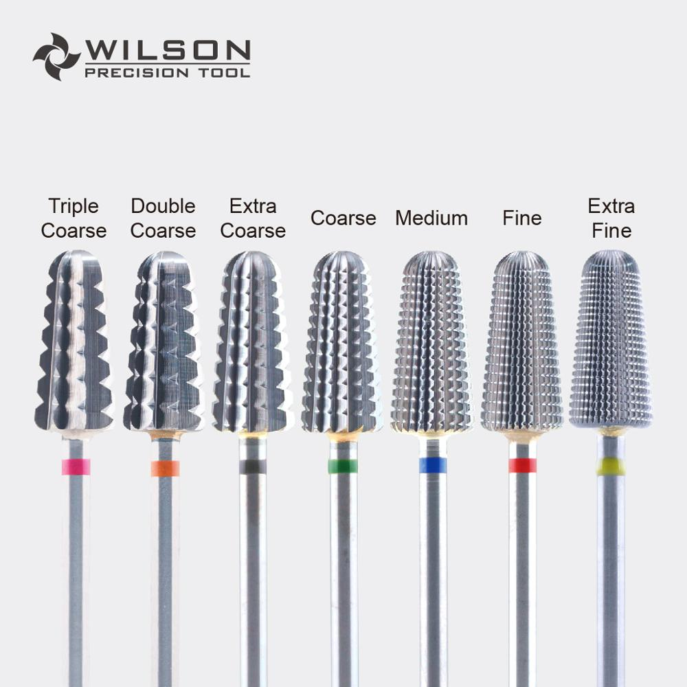 Volcano Bit(Fastest Remove Acrylics&Gels)-One Directional(for Right Hand use only)-WILSON Carbide Nail Drill Bits