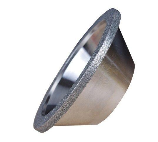 Бесплатная доставка 1 шт. Высокое качество 150 # 100D * 10W * 5U * 20H * 35T литые диски чаша алмазный шлифовальный круг для заточки лезвий из сплава