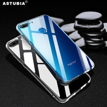 Funda clara de cristal para Honor 9 Lite funda para Huawei Honor 7X funda transparente para Honor View 10 9 V9 8 6A 5C 6CPro