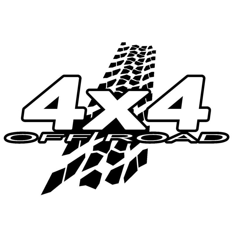 20cm*13.6cm NEW 4X4 OFF-ROAD Mud Funny Vinyl Decals Car Sticker Car-styling Black/Silver S6-3576