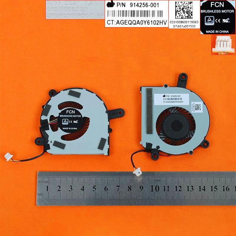 Nuevo Ventilador de refrigeración para portátil para HP ASSY HDD ENT 17 (Original) PN DFS150305BD0T 023.10086.0001 914256-001