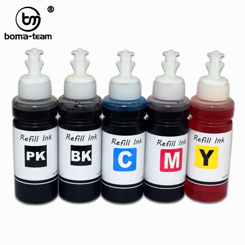 BOMA HP178 HP364 HP564 HP862 Water based Dye Ink Refill For HP 7510 B8550 C5380 C6375 C6380 D5460 C309 C310 C410 C510 printer