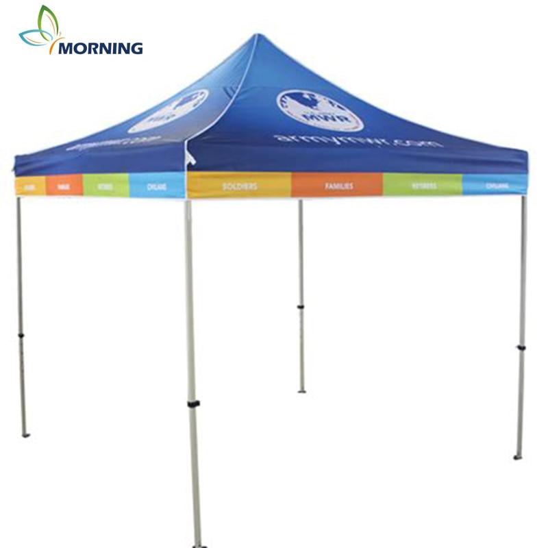Morning custom outdoor display advertising aluminum alloy frame  waterproof canopy tent