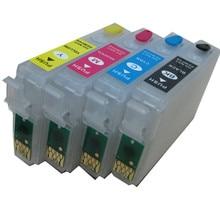 T1631 16XL cartouche dencre rechargeable pour EPSON WorkForce WF-2010W WF-2510WF WF-2520NF WF-2530WF WF-2540WF WF-2630W 650DWF 2660DWF