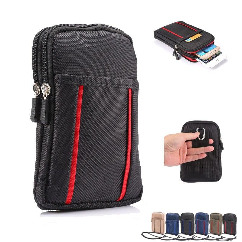 Многофункциональный кошелек, чехол для телефона, зажим для ремня, сумка для iPhone Samsung, чехол с держателем, поясная сумка, спортивный чехол для ...