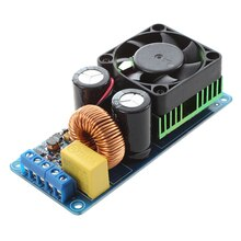IRS2092S 500W Mono Kanal Digital Verstärker Klasse D HIFI Power Amp Bord mit FAN